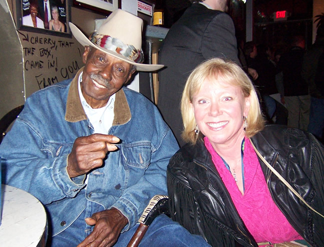 Pinetop Perkins & Anny at Nuno's