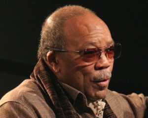 Quincy Jones delivering a captivating keynote at SXSW 09